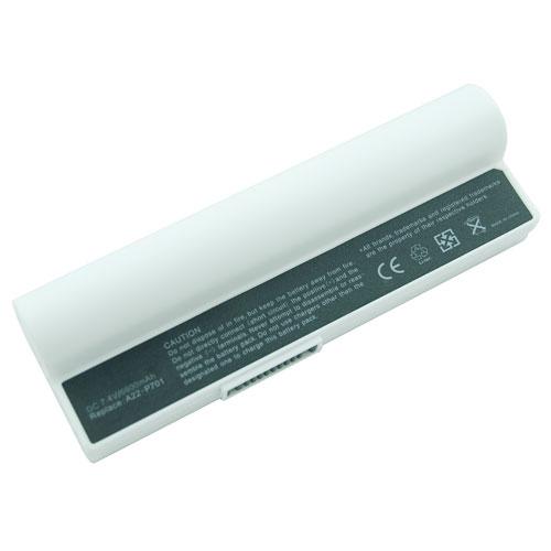Asus Eee PC Аккумулятор для ноутбука (2G; 4G; 8G; 12G;  20G; 700; 701; 801; 900) 4400 mah (White)