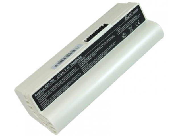 Asus Eee PC Аккумулятор для ноутбука (Asus Eee PC:2G, 4G, 8G, 12G, 20G, 700, 701, 801, 900) 10400 mah (White)
