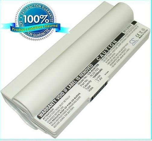 Asus Eee PC Аккумулятор для ноутбука (Eee PC 703) 10400 mah (White)