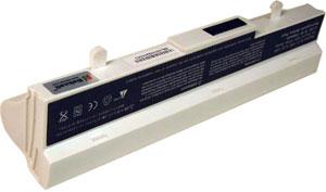 Asus Eee PC Аккумулятор для ноутбука (Eee PC 1005) 6600 mah (White)