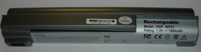 Sony Vaio Аккумулятор для ноутбука (BPS3, BPL3) 7800mah (Black)