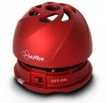 MyVibe H-2 Портативная акустическая система (красная)