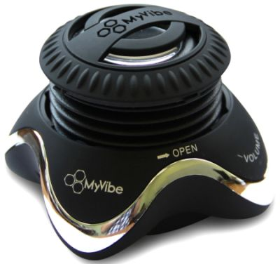 MyVibe S2 Портативная акустическая система (хром)
