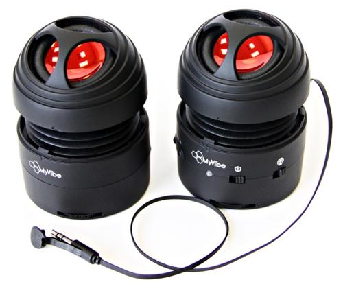 MyVibe SH2 Портативная акустическая система (чёрная)