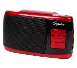 MyVibe Nano Портативная акустическая система (красный/черный)