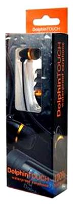NU Dolphin 9MPFDTK1001 комплект наушников (водонепроницаемых) для МР3-плеер NU Dolphin Touch 4GB