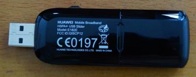 HUAWEI E182E 3G USB модем GSM HSPA + переходник для внешней антенны