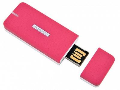 Huawei E369 3G модем универсальный. Розовый (цвет)