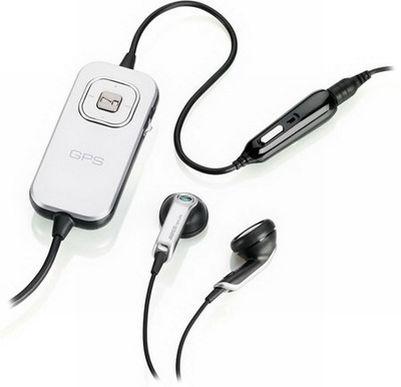 Sony Ericsson HGE-100 стереогарнитура с GPS приемником (C510,C902,G700,Jalou,T700,T707,W350i,W380i,W508,W595,W705,W760i,W980,Zylo)