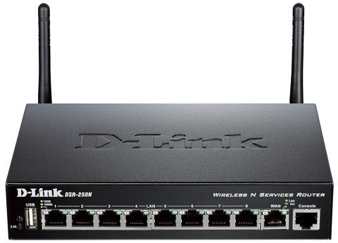 D-Link DSR-250N интернет-маршрутизатор