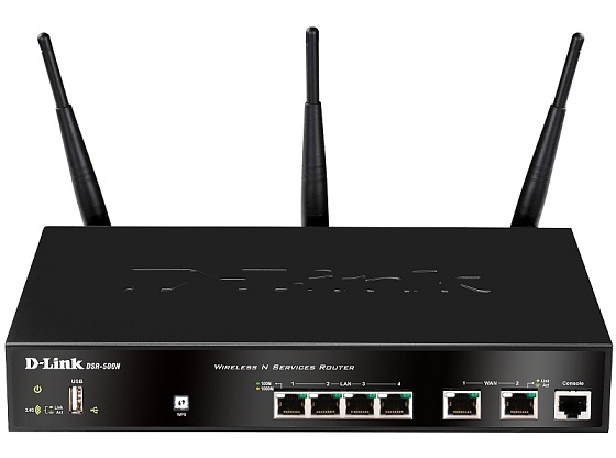D-Link DSR-500N интернет-маршрутизатор