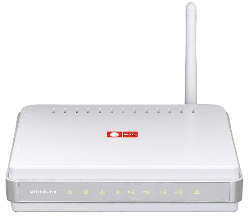 D-Link МТС DIR-320 3G Wi-Fi маршрутизатор беспроводной