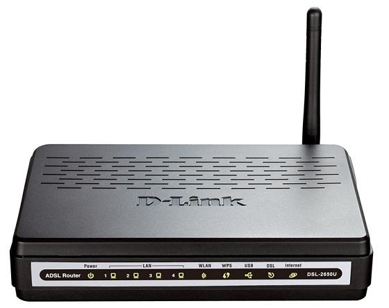 D-Link DSL-2650U Маршрутизатор ADSL