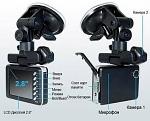Видеосвидетель 2401 HD 2CH Автомобильный видеорегистратор с двумя камерами