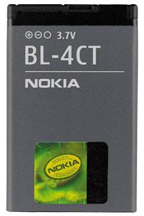 Nokia BL-4CT Аккумулятор (2720,5310,6600,7210,7310)