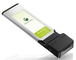SonyEricsson EC400g + GPS 3G ExpressCard модем GSM