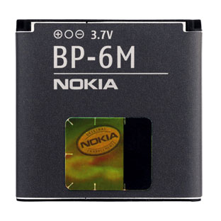 Nokia BP-6M Аккумулятор (6151, 6233, 6288, N73, N73, N77)