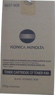 Konica Minolta CF TONER K4B 8937-909 Тонер картридж черный
