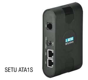 Matrix SETU ATA1S– телефонный адаптер
