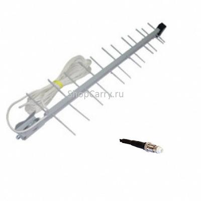 Antey 14Дб Антенна внешняя направленная стационарная (GSM 900) FME Кабель 10м