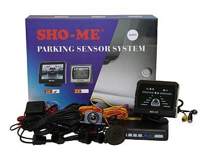 SHO-ME KDR-36 (black) парктроник с камерой заднего вида