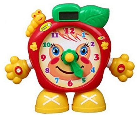 Часы обучающие Яблоко