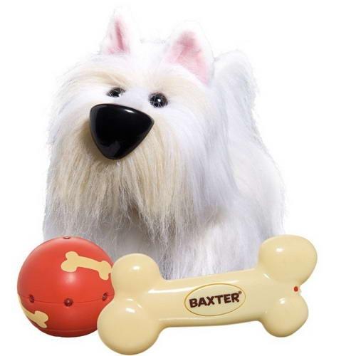Игрушка IMC Toys Baxter собака интерактивная ловит мяч