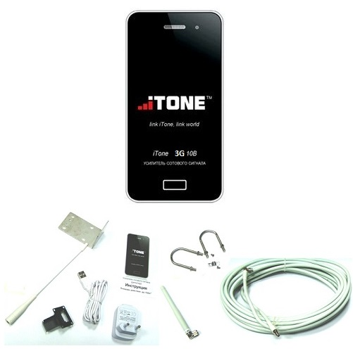 iTone 3G-10B активный усилитель 3g сигнала для модема роутера с разъемом crc9