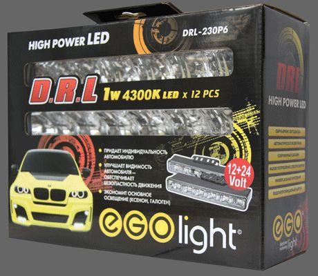 EGO Light DRL-230P6 Фары дневного света светодиодные