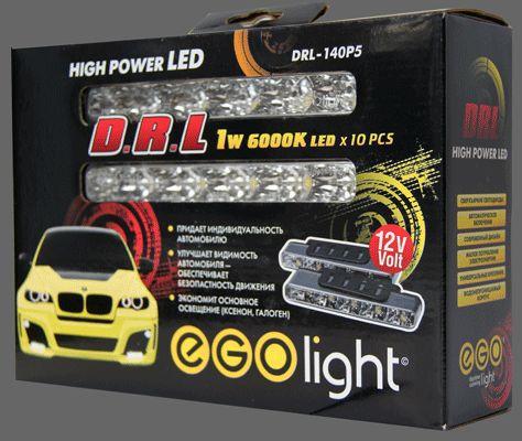 EGO Light DRL-140P5 Фары дневного света светодиодные