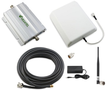 VEGATEL VT-900E/1800-kit Репитер усилитель gsm сигнала (комплект)