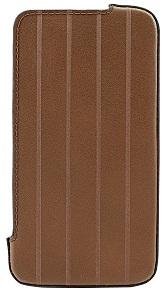 DEXIM чехол прочный кожаный для iPhone 4S/4 коричневый