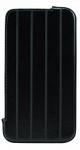 DEXIM чехол прочный кожаный для iPhone 4S/4 чёрный