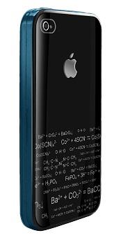 DEXIM чехол стильный жесткий для iPhone 4S/4 чёрный