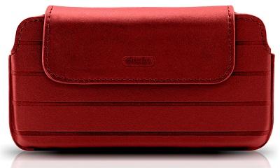 DEXIM чехол для iPhone 4S/4 из кожи ручной работы, красный