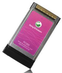 Sony-Ericsson PC300 3G PCMCIA модем GSM