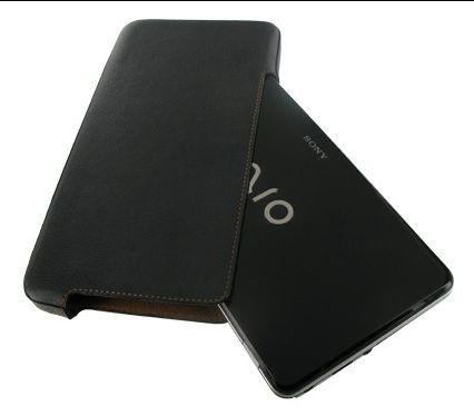 Чехол кобура кожа Sony VAIO серии P VGN-P80H, VGN-P70H, PVGN-P15G Holder Type Black