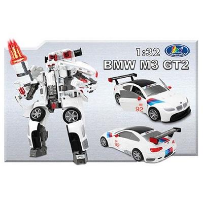 Игрушка Робот-трансформер BMW MW-GN2, 1:32, свет