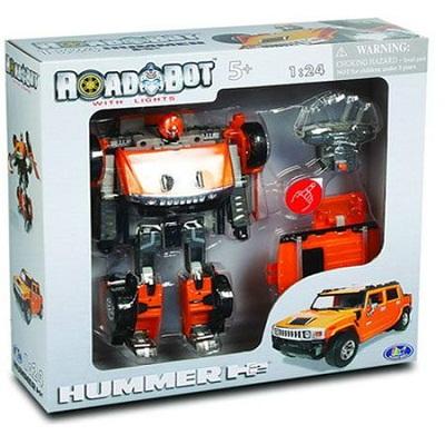 Игрушка Робот-трансформер Hammer H2, 1:24 H2 свет