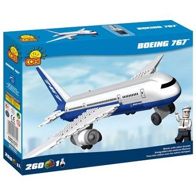 "Игрушка Конструктор пласт.COBI &quotБоинг 767"",260 дет(Boeing)"