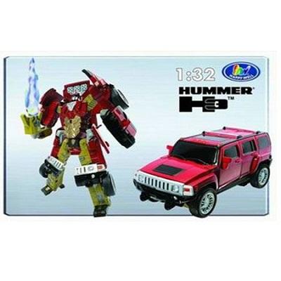 Игрушка Робот-трансформер Hammer H3, 1:32, свет
