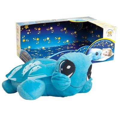 Мягкая игрушка мульти-пульти &quotчерепаха&quot муз. проектор-ночник, 3 колыбельные 30см