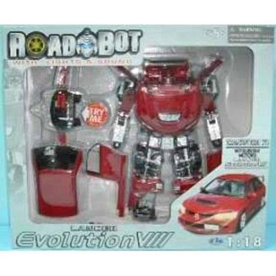 Игрушка Робот-трансформер Mitsubishi Evolution VII , 1:18