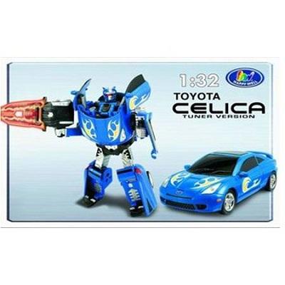 Игрушка Робот-трансформер Toyota Celica, 1:32, свет