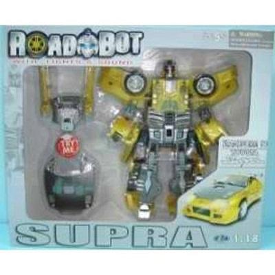 Игрушка Робот-трансформер TOYOTA SUPRA, 1:18, свет, звук