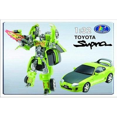 Игрушка Робот-трансформер TOYOTA SUPRA, 1:32, свет