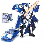 Игрушка Робот-трансформер на батарейках TOYOTA CELICA, 1:18, свет, звук