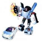 Игрушка Робот-трансформер Happy Well TOYOTA MR2, 1:18, свет, звук