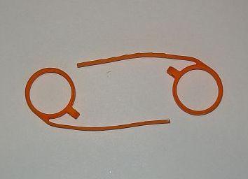 Крепления на очки для плеера NU Dolphin