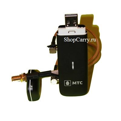 ZTE MF825 МТС Мегафон Билайн (830FT) с переходником под антенну TS9х2-SMAх1 4G LTE 3G USB модем универсальный купить оптом и в розницу